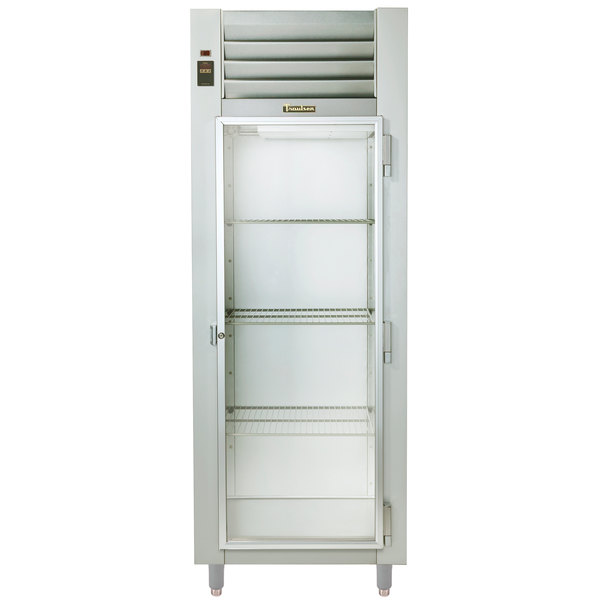 Traulsen RHT132EUT-FHG Stainless Steel One Section Glass Door Extra Wide Reach In Refrigerator - Specification Line