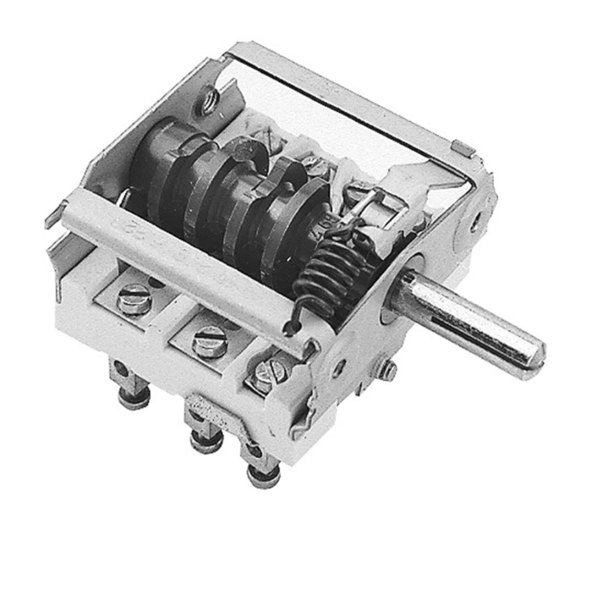 Hatco 02-19-021 Equivalent On/Off/On Rotary Selector Switch