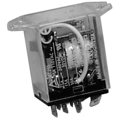 Pitco PP11124 Equivalent SPDT Relay for Fryer - 24VDC Main Image 1