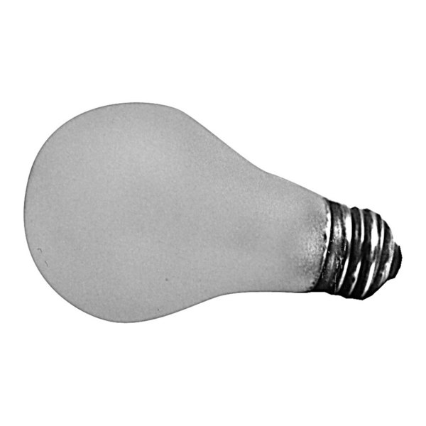 All Points 38-1067 100W Silicone-Coated Rough Service Light Bulb with Medium Base - 125/130V