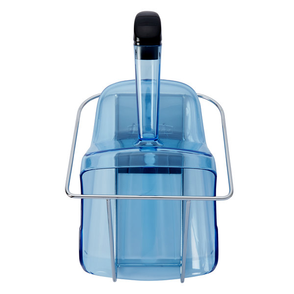 Rubbermaid FG9F5100TBLUE ProServe 2.3 Qt. Ice Scoop with Holder Main Image 1