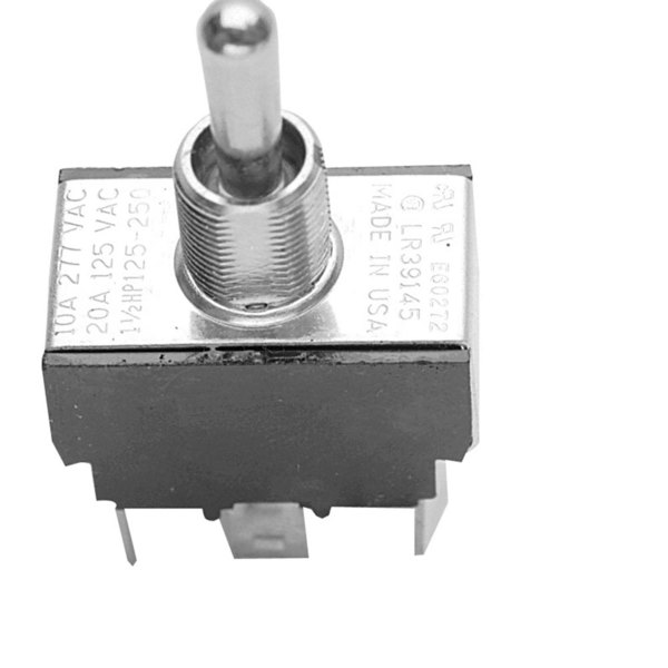 Keating 004501 Equivalent Momentary On/Off Toggle Switch - 20A/125V, 10A/277V