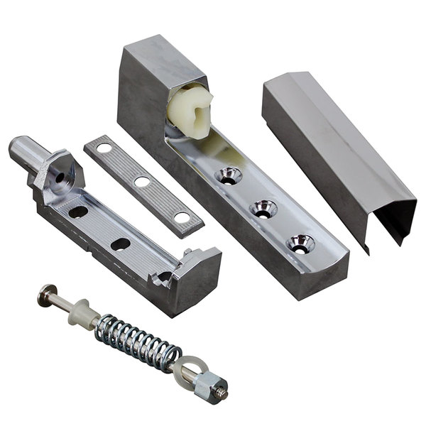 "All Points 26-3310 5 3/4"" Edge Mount Cam-Lift Door Hinge with Spring"