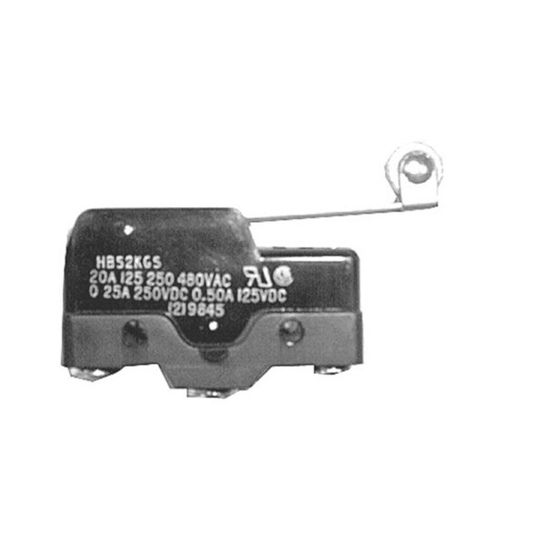All Points 42-1145 Momentary On/Off Roller Lever Micro Switch - 20A-125/250/480V