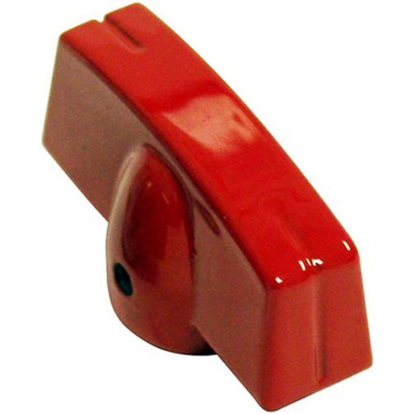 Vulcan 4197 Equivalent Aluminum Red Grill / Oven / Broiler Knob Main Image 1