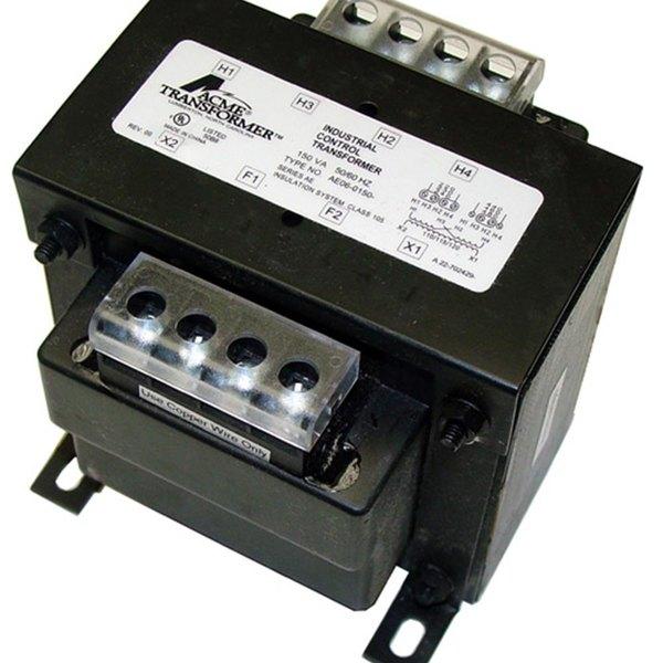 Cleveland 20535 Equivalent 150VA Transformer - 230/340/460/480V Primary, 120/115/110V Secondary