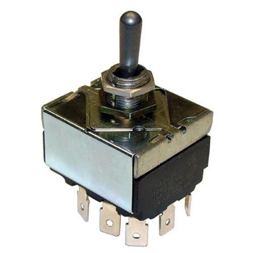Frymaster 8071040 Equivalent On/Off/On Toggle Switch - 10A/250V, 15A/125V Main Image 1