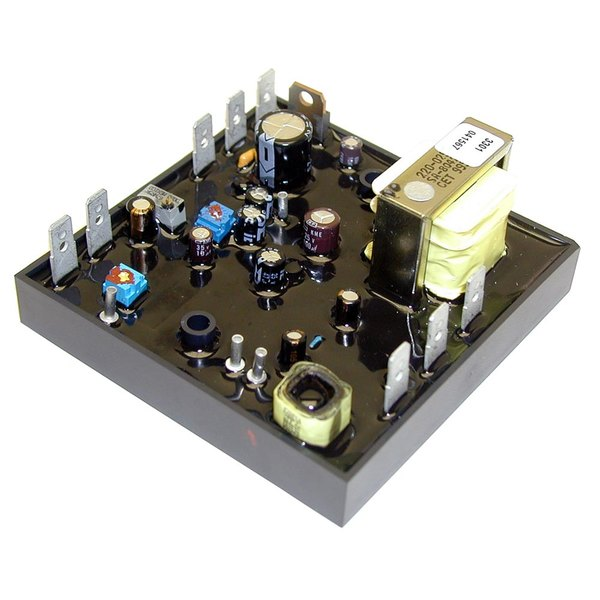 """All Points 46-1279 Temperature Control Board with Potentiometer Control; 120V; 3 1/2"""" x 3 1/2"""""""