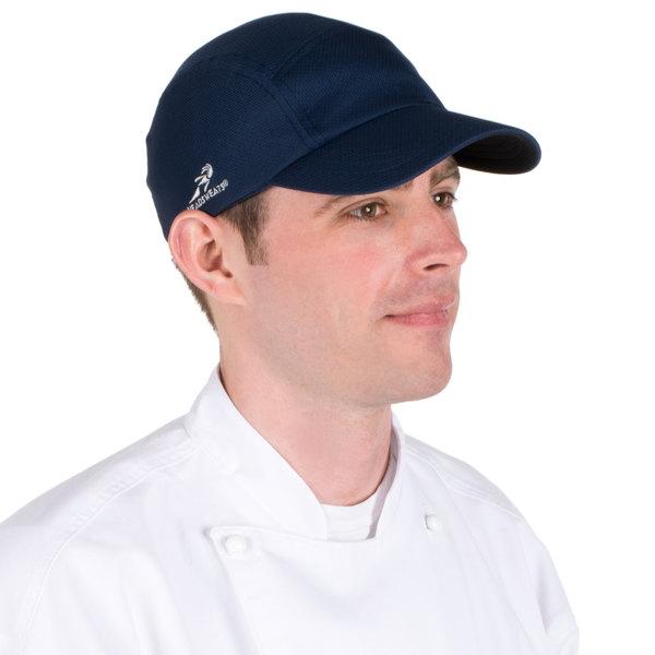 Navy Blue Headsweats 7700-214 Coolmax Chef Cap