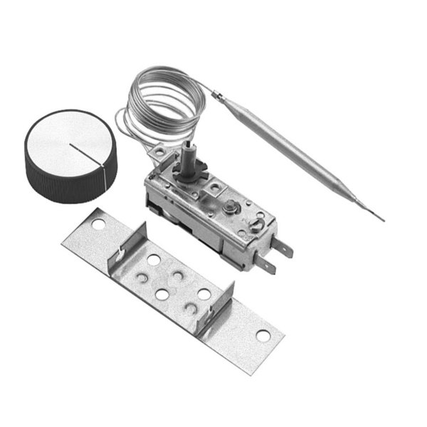 "Hatco R02-16-046 Equivalent Thermostat; Type T150; Temperature 100 - 200 Degrees Fahrenheit; 64"" Capillary Main Image 1"