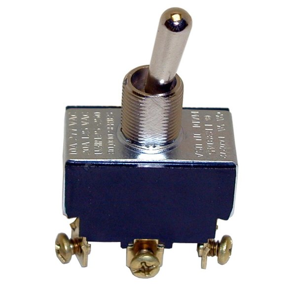 Pitco P5047164 Equivalent On/Off/Momentary On Toggle Switch - 20A/125V, 10A/277V Main Image 1