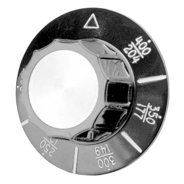 """All Points 22-1195 2 1/4"""" Fryer Dial (200-400)"""