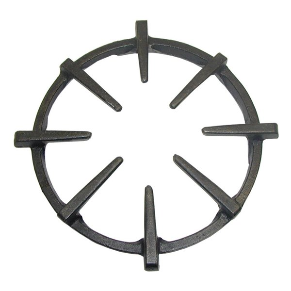 """All Points 24-1035 9 1/4"""" Cast Iron Spider Grate"""
