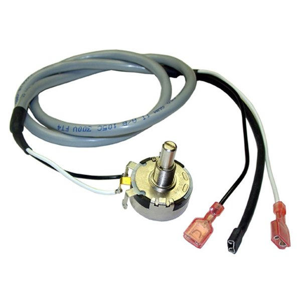 """All Points 42-1579 Conveyor Control Potentiometer; 36""""; 1/4"""" Female Push-On Connections; 1/4"""" Round Shaft Main Image 1"""