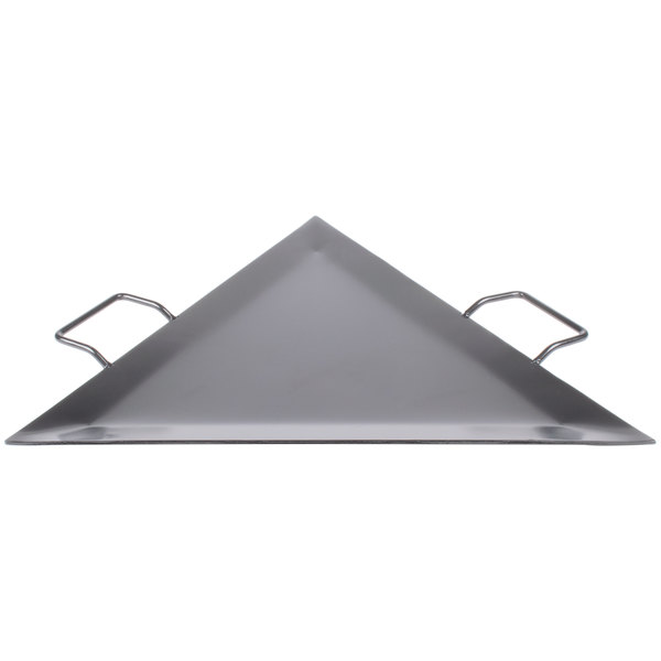 American Metalcraft G777 Triangle Wrought Iron Griddle Main Image 1
