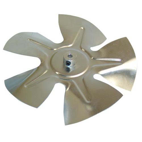 """All Points 26-3367 6 1/2"""" Aluminum Condenser Fan Blade for Silver King"""