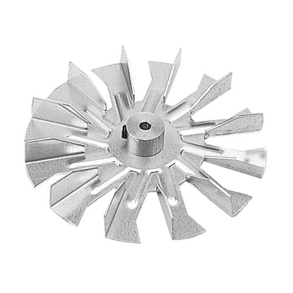 "All Points 26-2152 Counter Clockwise Fan Blade 4"" Diameter x 3/16"" Bore"