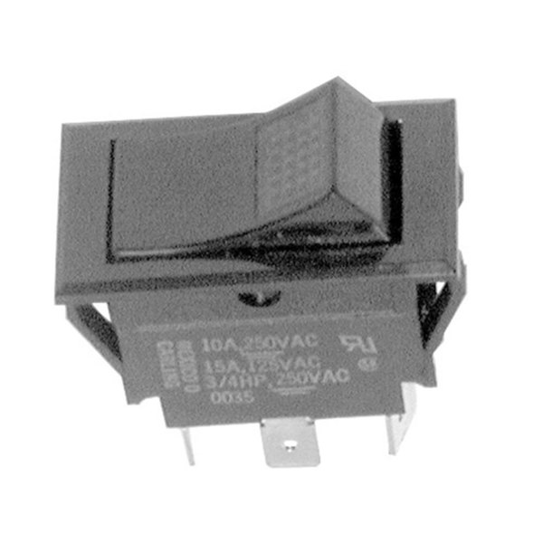 All Points 42-1294 On/Off Lighted Rocker Switch - 15A/125V, 10A/250V Main Image 1