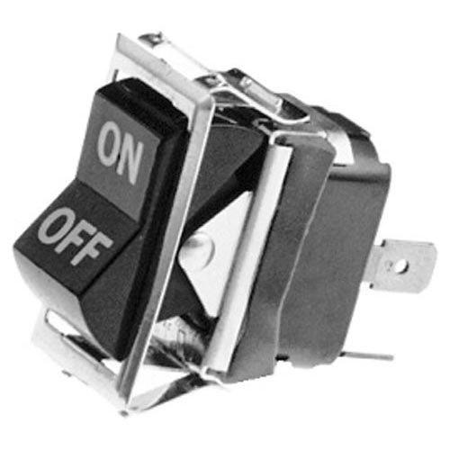 All Points 42-1651 On/Off Rocker Switch - 10A/250V, 15A/125V Main Image 1