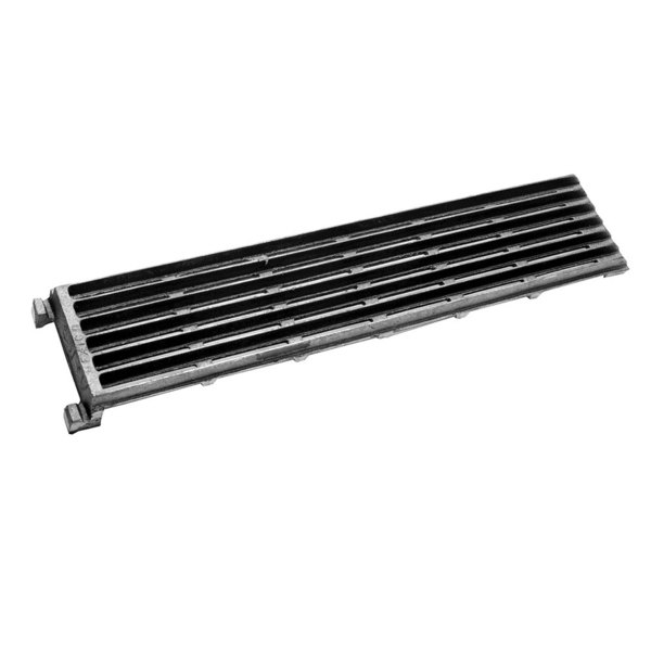 "Bakers Pride T1006A Equivalent 23 7/8"" x 5 1/8"" Cast Iron Reversible Top Broiler Grate"