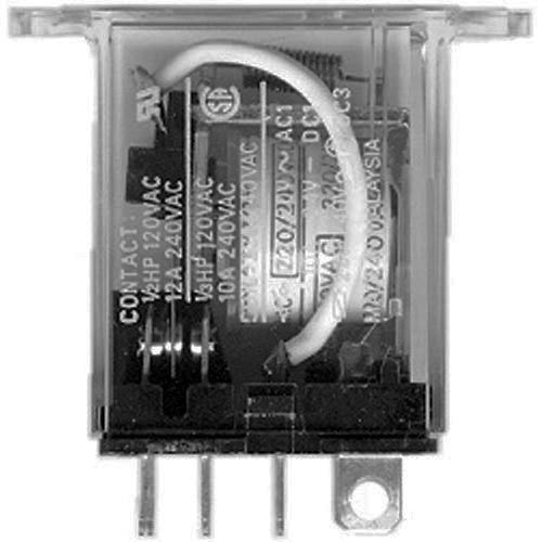 All Points 44-1228 10/12 Amp 8-Pin Relay - 220/240V