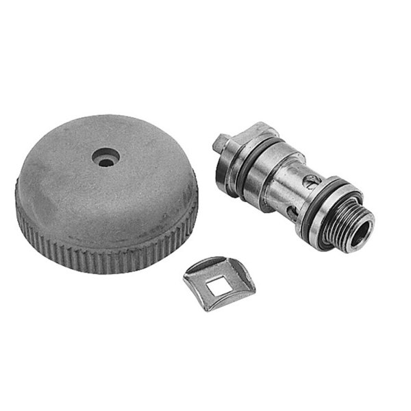 """All Points 56-1183 3/8"""" MPT Trunion Valve Assembly with Knob"""
