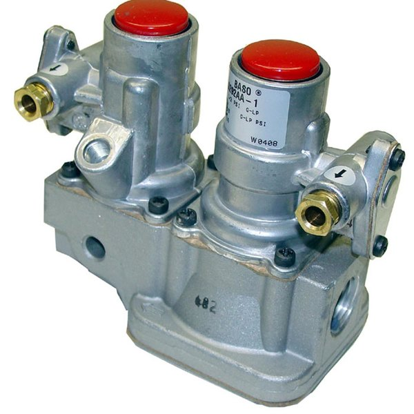 "Baso G292AA-1 Equivalent Gas Safety Valve; Natural Gas / Liquid Propane; 1/2"" Gas In / Out; 1/4"" Pilot Out"