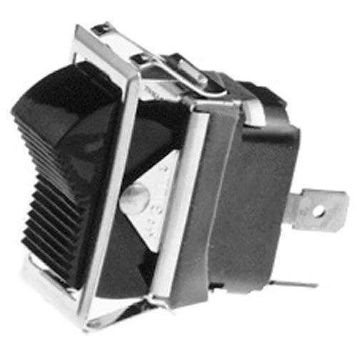 Hobart 343224-25 Equivalent On/Off Rocker Switch - 10A/250V, 15A/125V Main Image 1