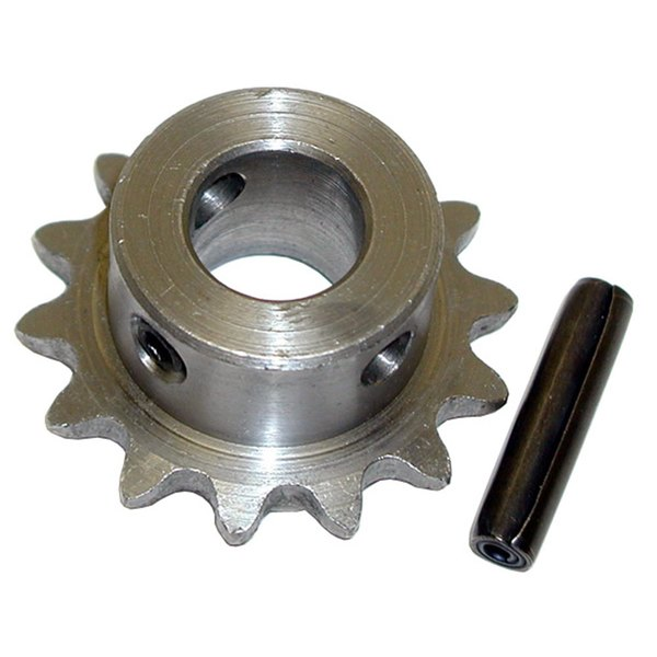 "All Points 26-2507 Sprocket with Pin - 14 Teeth, 5/8"" Hole, 1 7/8"" Diameter Main Image 1"