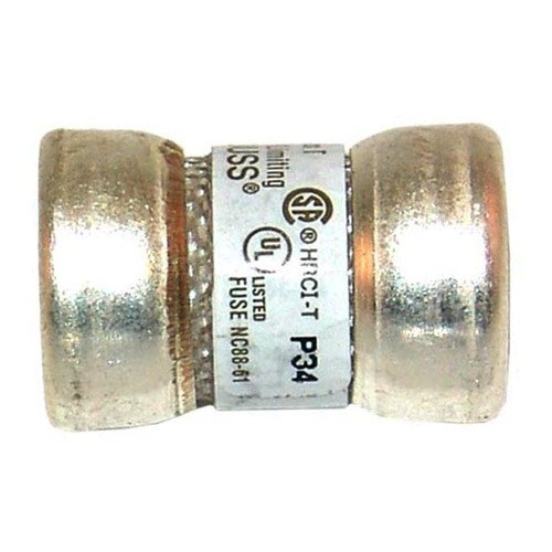 """All Points 38-1056 9/16"""" x 7/8"""" 60 Amp Very Fast Acting T-Tron Space Saver Fuse - 300V"""