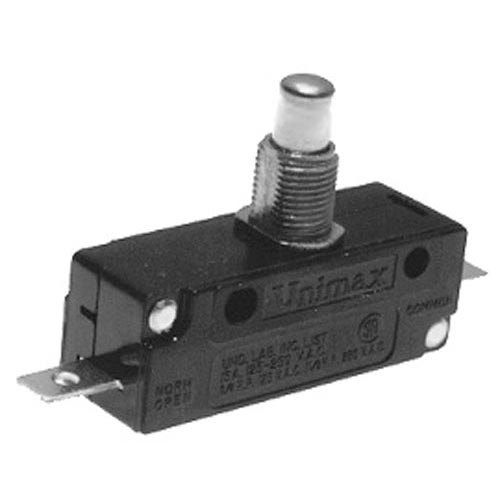 All Points 42-1593 Momentary On/Off Plunger Micro Switch - 15A, 250/125V Main Image 1
