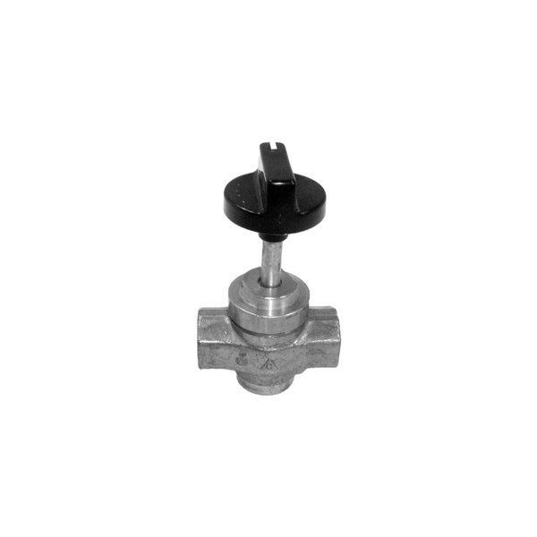 "All Points 52-1020 Gas Valve with Handle; 1/2"" Gas In / Out"