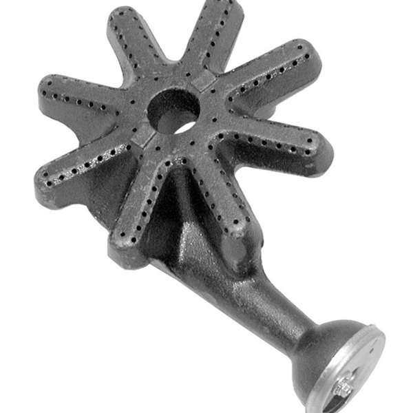 """All Points 24-1158 9 3/4"""" x 6 1/2"""" Cast Iron Front Burner Assembly"""