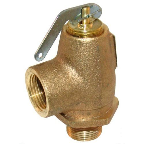 "All Points 56-1317 12 PSI Steam Safety Relief Valve - 3/4"" NPT, 420 lb./Hour Main Image 1"