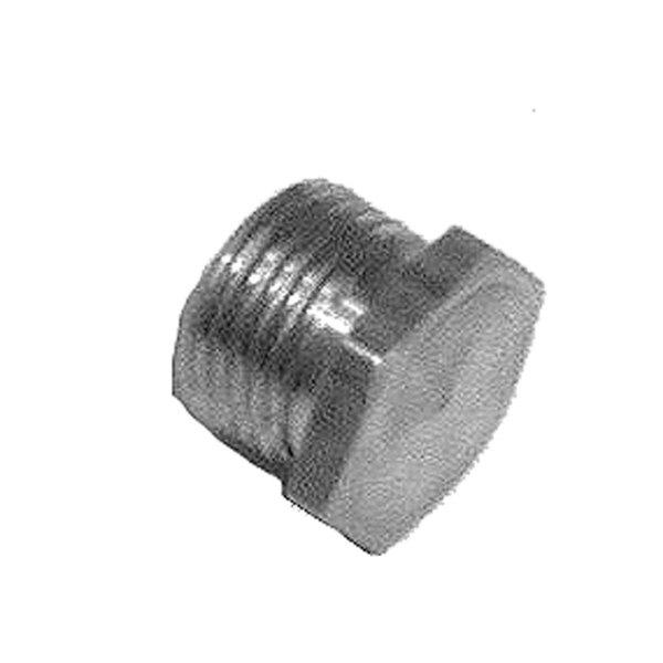 "Frymaster 8100129 Equivalent Brass Burner Orifice; #51; 1/8"" MPT"