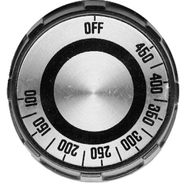 """All Points 22-1279 2"""" Grill / Oven / Range Thermostat Dial (Off, 100-450)"""