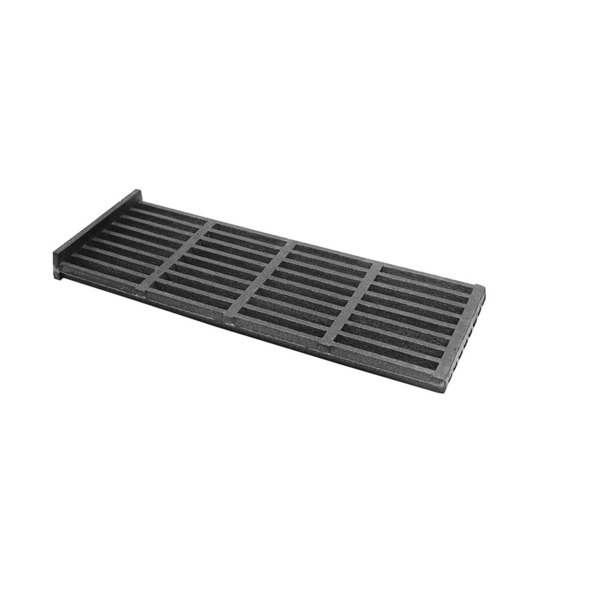 """Bakers Pride T1013A Equivalent 17 3/8"""" x 6 3/4"""" Cast Iron Top Broiler Grate Main Image 1"""