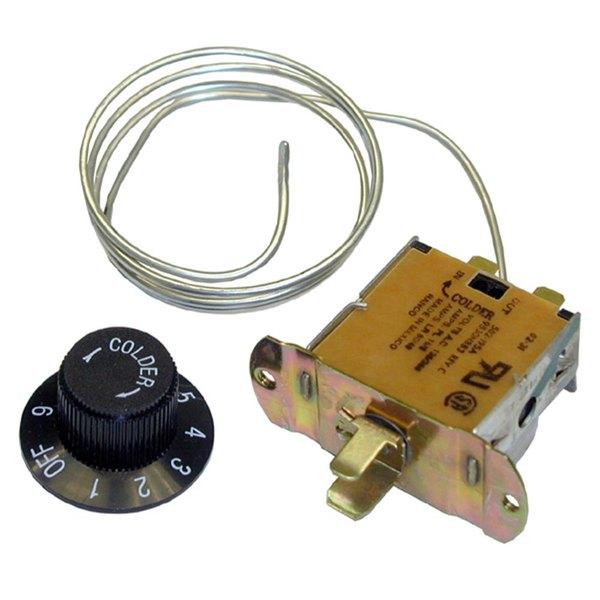 Beverage-Air 502-289B Equivalent Cooler Temperature Controller - 18 to 49 Degrees Fahrenheit