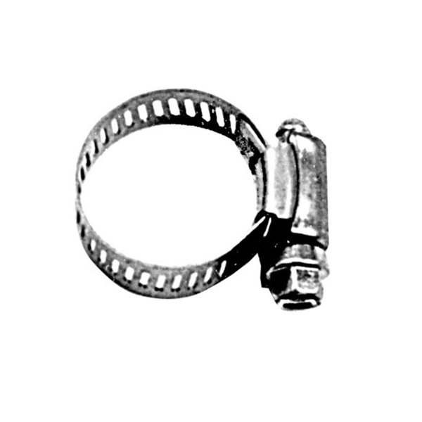 "All Points 85-1055 #8 Stainless Steel Hose Clamp - 1/2"" to 7/8"""