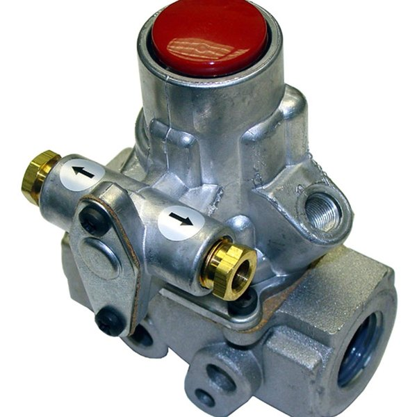 "All Points 54-1112 Gas Safety Valve; Natural Gas / Liquid Propane; 1/2"" Gas In / Out; 1/4"" Pilot In / Out"