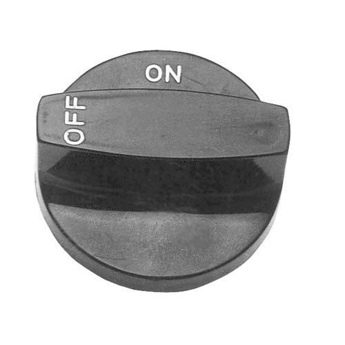 """All Points 22-1053 2 1/2"""" Broiler / Range Knob (Off, On) Main Image 1"""