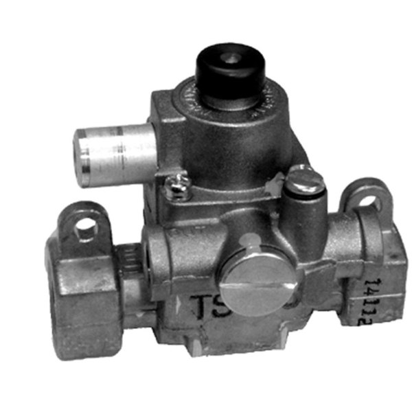 """All Points 54-1020 Type """"J"""" TS Safety Magnet Head and Gas Carrier; Natural Gas / Liquid Propane; 7/16"""" Gas In / Out; 1/4"""" Pilot In / Out"""