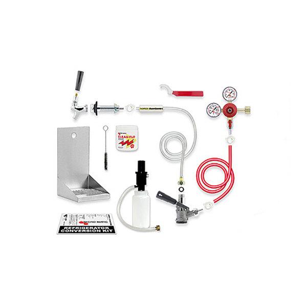 Micro Matic RCK-LC-SG Premium Kegerator Door Mount Conversion Kit Main Image 1