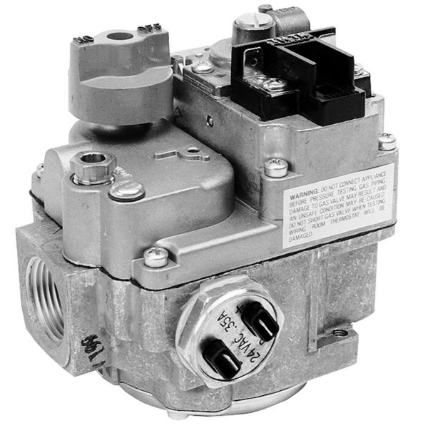 "All Points 54-1087 Type BDER-S7A Natural Gas Valve; 1/2"" Gas In / Out; 1/4"" Pilot Out; 24VAC or 12VDC Actuator"