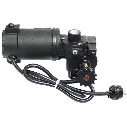 Nieco 4004-01 Equivalent Gear Motor with Sprocket - 90V DC