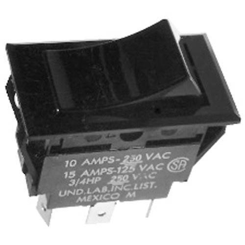 All Points 42-1648 On/Off/On Rocker Switch - 15A/125V, 10A/250V