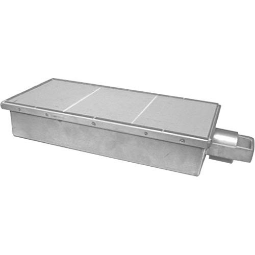 "Dynamic Cooking Systems 12024 Equivalent 16 7/8"" x 8 1/2"" Infrared Burner without Orifice Main Image 1"