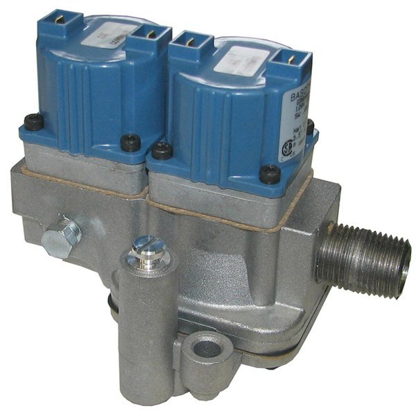 """All Points 54-1030 Dual Natural Gas Solenoid Valve; 1/2"""" FPT; 120V"""