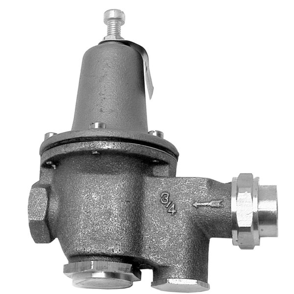 """Watts 0009280 Equivalent 3/4"""" FPT Union x 3/4"""" FPT Water Pressure Reducing Valve - 10 to 35 lb. Range Main Image 1"""