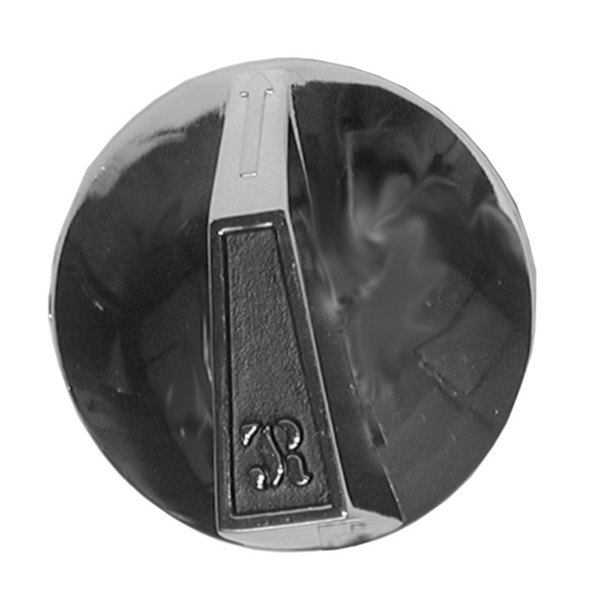 "Jade Range 300-343-000 Equivalent 2 3/8"" Broiler / Range Burner Valve Knob with Pointer Main Image 1"